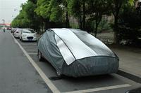 Aluminum film + EPE & non-woven quality thick anti hail car cover at factory price