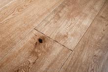 White washed oak engineered wood flooring