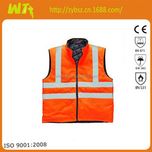 high visibility reflective security dress meets EN471
