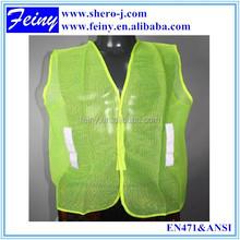 Feiny 100% polyester hi vis wholesale mesh reflective t shirt