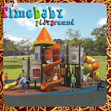 Guangzhou Factory The Pirate ship style playground equipment/large slides for kids/kids play slide