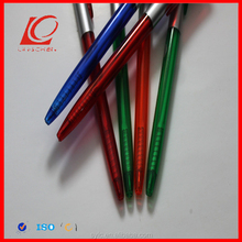 hotel use plastic raw materials of ball pen for promotion