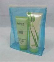 Waterproof shiny durable clear vinyl ziplock bag