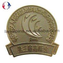 Brass Stamped Academic Souvenir Pins Badge
