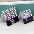 2014 embellecimiento de diamantes de imitación púrpura encaje de clásicos de la tarjeta de la boda