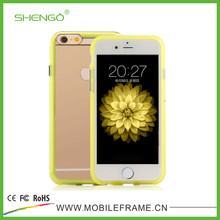 2 in 1 Sublimation TPU+PC Phone Cases for iPhone 6 with Many Colors Design