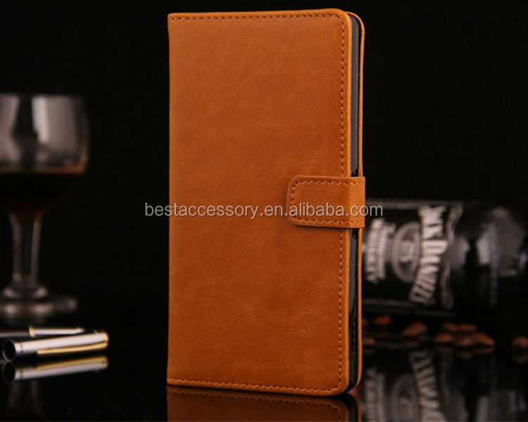 2014 PU leather cell phone case for iphone 6 wholesale