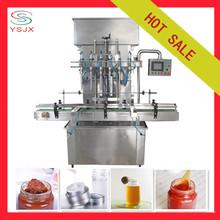 Tomato paste automatic bottle filling machine