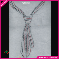 China New Products Tie Supplier New Product Neckline Rhinestone Transfer