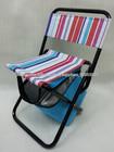 dobrável caixa térmica cadeira cadeira / pesca com mesa para acampamento ao ar livre e piquenique