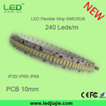 Tira LED con Chip de alta potencia lumínica SMD3528 240led/m LED flexible