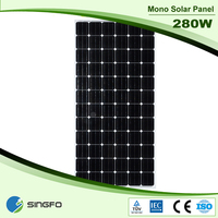Best Transparent BIPV Suntech Solar Panel 280W