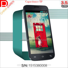 Wholesale 3.5 inch PDA Quad band capacitive Touch screen cell phone with Bluetooth