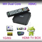 Hdmi caixa de tv stb androic xbmc com construído- em 1gb/8gb e da fábrica na china