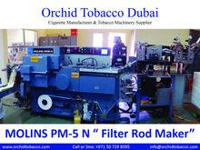 """MOLINS PM-5 N """"Cigarette Filter Rod Manufacturer"""" Molins PM5 """"Filter Rod Manufacturing Machinery"""""""