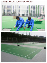 Used badminton court sports floor for sale