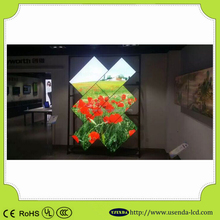 """47"""" wall mount touch lcd PC with 4-wire resistive touch panel, VGA, S-VIDEO, COM port"""
