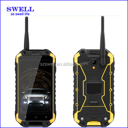 manufacturer PTT Walkie Talkie IP68 dual sim gsm cheap mobile phone / 2 card / battery sell rugged nfc android smartphone X8S