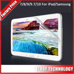 For Samsung Galaxy accessories , High clear mobile phone screen protector for Samsung Galaxy Note 10.1