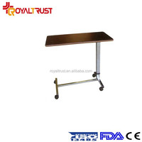 2015 Adjustable Table on Wheel Over Bed Multifunctional Laptop Table