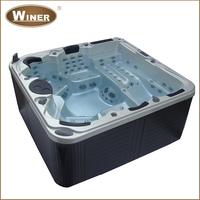 5 people luxury massage acrylic spa balboa hydro cheap outdoor plastic hot tub for Garden