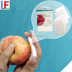 fruit cleaning product apple dewaxing sponge