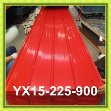 Color corrugated metal steel sheet for roofing panel