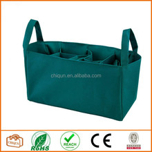 2015 Chiqun Dongguan Baby Diaper Bags Stroller Accessories Storage Bottle Diapers Organizer Handbag Travel Bag Green