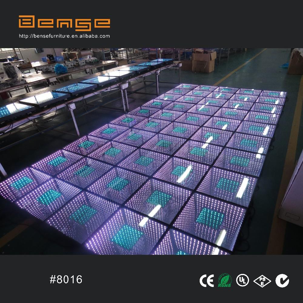 Portable Lighted Dance Floor : New design portable infinity led dance floor for sale