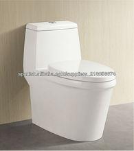 Cuarto de baño de cerámica tocador de una pieza siphonic 3152