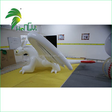 2015 hot sale white dragon Advertising Inflatable cartoon characters for decorate or publicity