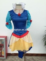 Instyles new fashion snow white kids child costume outfit sexy lingerie