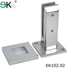 Swimming pool fence bolt down side mount stainless steel spigot glass clamp