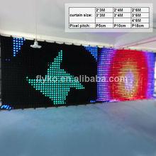 2012 new product led cloth curtain led hallowmas light
