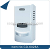 Eco-friendly office hospital automatic perfume dispenser/white ABS electric fan air freshener dispenser CD-6028A