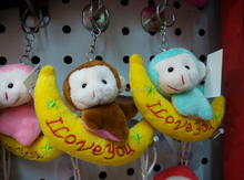 monkey toys New products 2015 innovative product Stuffed monkey toys&PV fleece monkey clown in stock