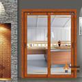 لطيفة تبحث تصميم جديد للألمنيوم ماسكة والخشب ماسكة الأمن الباب العالي