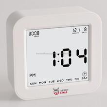 flip alarm desk clock mini flip clock, auto flip calendar clock