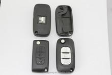 408# peugeot key with middle light button auto key case