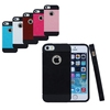 BRG Super Protect Tough Armor Shockproof Case Cover for Apple iPhone 5 Leather Back New Slim Armor Armour Case
