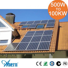 10KW on grid Solar Energy System power generator for Home