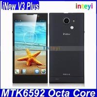 iNew V3 Plus Original Mobile 5.0 Inch HD Screen Android 4.4 MTK6592M Octa Core Ram 2GB Rom 16GB 3G Smartphone