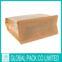 High Quality and Cheap Flat Bottom Square Brown Tea Bag