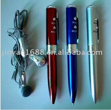 novelty items radio Ballpoint pen with volume control earphone giveaway