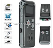 digital voice recorder with external microphone/high sensitive voice recorder/ micro hidden voice recorder