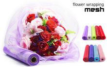pp mesh supplies wholesale for wedding centerpieces floral rose decoration