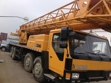 Second hand XCMG QY50K-2 50t truck crane 50t China used condition XCMG 50t year 2009 mobile crane hydraulic engine