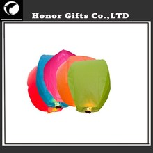 2015 Best Fashion Flame Resistant Wedding Sky Lantern Chinese Paper Lantern