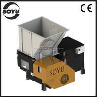 Film crusher/film shredding machine