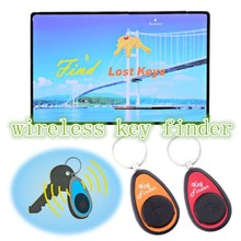 Wireless Electronic No radiation environmental protection.Key Finder set 1 Credit Card Sized Transmitter 2 Receivers